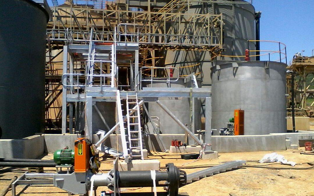 G4 Detox plant Barberton mine